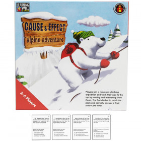 Cause & Effect-Alpine Adventure Game, Red Levels 2.0-3.5