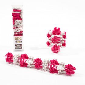 Fidget Flexers, Neon Pink/White