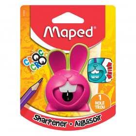 Maped Croc Croc Innovation 1 Hole Bunny Pencil Sharpener