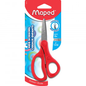 """Maped Essential 5"""" Kid Scissors Pointed - carded"""