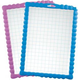 Gridded Dry Erase Board 30/Pk Transparent Kidy Board