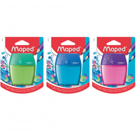 Maped Shaker Pencil Sharpener, 2-Hole