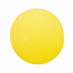 Uncoated Foam Ball, 8.5-Inch, Yellow