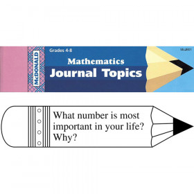 Journal Booklet Mathematics Gr 4-8