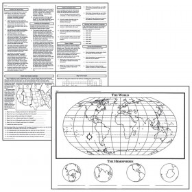 Basic Map Skills Activity Posters