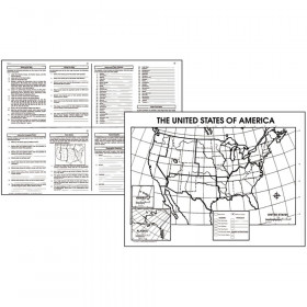 "The United States Activity Poster Set, 17"" x 22, 30/pkg"
