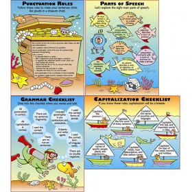 Grammar Basics Teaching Poster Set