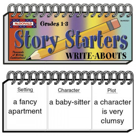 Write-Abouts, Grades 1-3, Story Starters