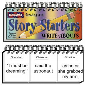 Story Starters Write-Abouts Booklet