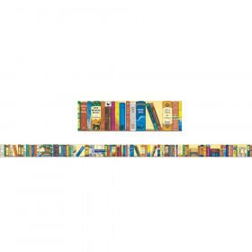 Bookshelf of the Classics Brainy Border, Grades 4-9+