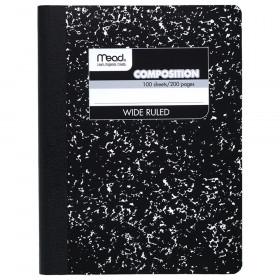Mead Composition Book, Wide ruled 100 ct.