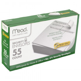 Press-It Seal-It Security Envelopes, #6.75, 55 count
