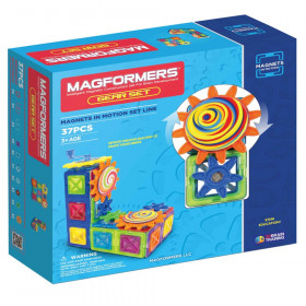 Magnets in Motion 37-Piece Gear Set