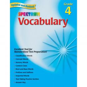 Spectrum Vocabulary Gr 4