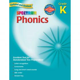 Spectrum Phonics Gr K