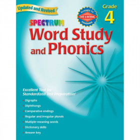 Spectrum Word Study & Phonics Gr 4
