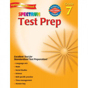 Spectrum Test Prep Gr 7