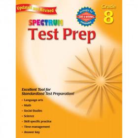 Spectrum Test Prep Gr 8