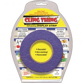 Cling Thing Display Strip, Blue