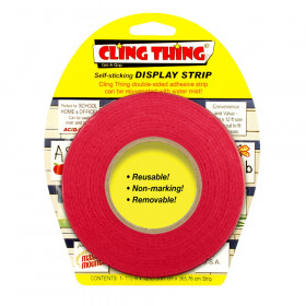 Cling Thing Display Strip, Red