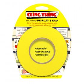 Cling Thing Display Strip, Yellow