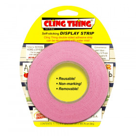 Cling Thing Display Strip, Pink