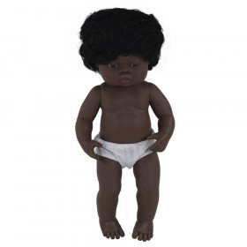 """Baby Doll 15"""" African Girl"""