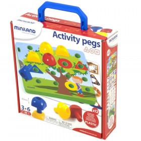 Activity Pegs, 30 Pieces