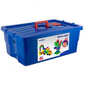 School Blocks Super 96Pc Container