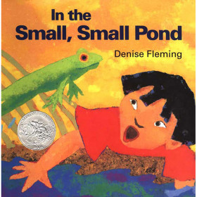 In The Small Small Pond Big Book