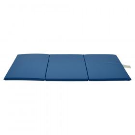 """Standard 3-Section Blue Rest Mat, 1"""" x 24"""" x 48"""""""