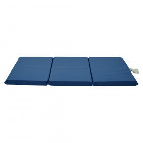 "Standard 3-Section Blue Rest Mat, 2"" x 24"" x 48"""