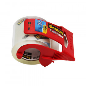"Super Strength Sure Start Packaging Tape w/Dispenser, 2"" x 800"""