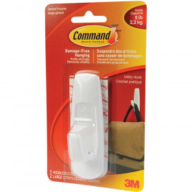Command Adhesive Reusable Large Hook