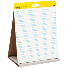 Tabletop Self Stick Easel Pad, 20 in x 23 in, 20 Sheets/Pad
