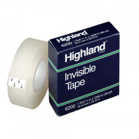 "Invisible Tape, 3/4"" x 1296"""