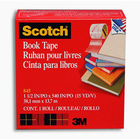 Book Tape, 1-1/2 in x 15 yd Roll