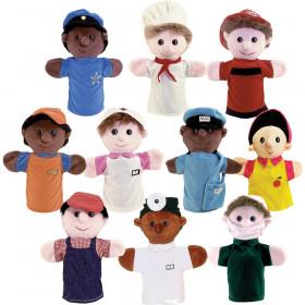 Community Helper Puppets, Set of 10