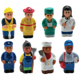 Multicultural Community Helper Fig Set Of 8