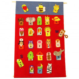 Alphabet Finger Puppets & Wall Chart