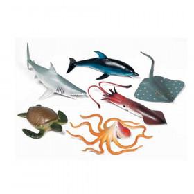 Ocean Animals Playset, Set of 6