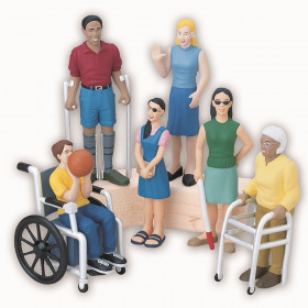 Friends with Diverse Abilities Figures, Set of 6