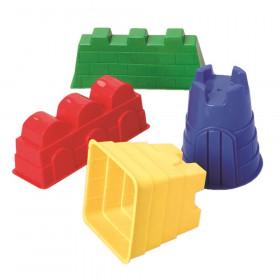 Sand Castle Molds 4/Set