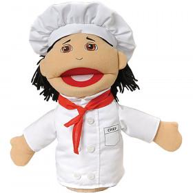 Chef Multi Ethnic Career Puppet