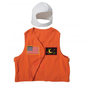 Astronaut Toddler Dress-Up, Vest & Hat