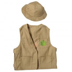Nature Explorer Toddler Dress-Up, Vest & Hat