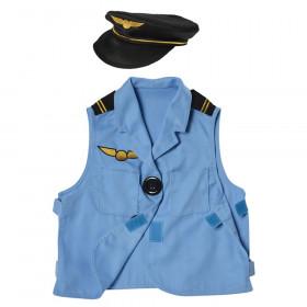 Pilot Toddler Dress-Up, Vest & Hat