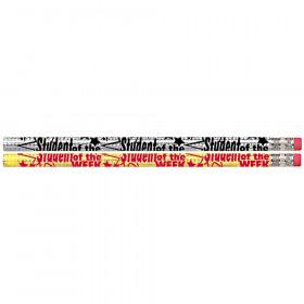 Student Of The Week Motivational/Fun Pencils, 12/pkg