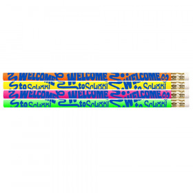 Welcome To School 12Pk Motivational Fun Pencils