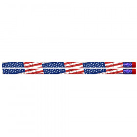 Flags & Fireworks Pencil, Pack of 12
